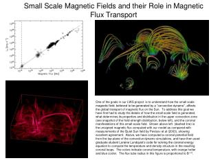 Small Scale Magnetic Fields and their Role in Magnetic Flux Transport