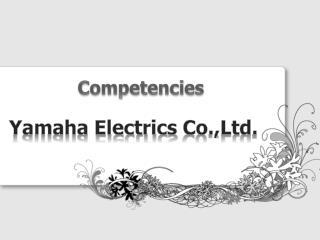 Yamaha Electrics  Co.,Ltd .