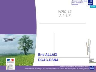 WRC-12 A.I. 1.7