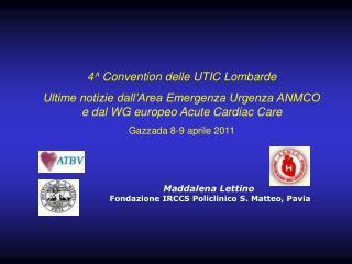 4^ Convention delle UTIC Lombarde