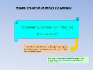5.Linear Superposition Principle ( For Experiments )