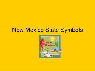 New Mexico State Symbols