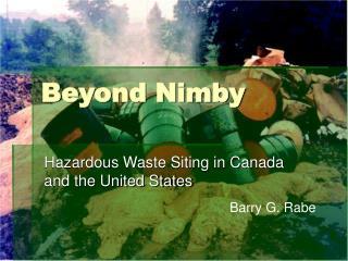 Beyond Nimby
