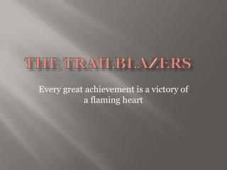 The  TRAILblazers