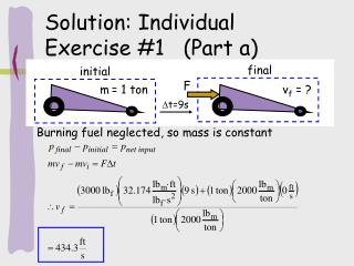 Solution: Individual Exercise #1   (Part a)