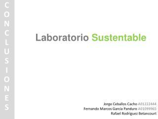 Laboratorio  Sustentable