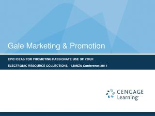 Gale Marketing & Promotion