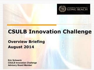 CSULB Innovation Challenge