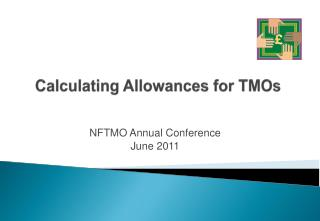 Calculating Allowances for TMOs