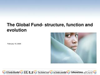 The Global Fund- structure, function and evolution