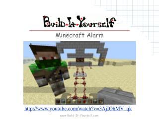 Minecraft Alarm