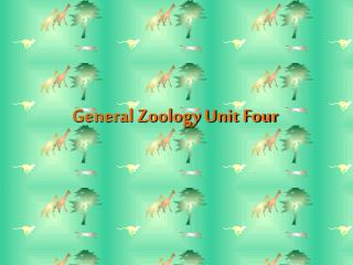 General Zoology Unit Four