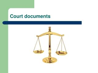 Court documents