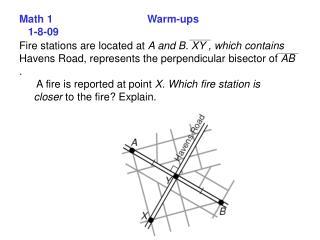 Math 1    Warm-ups    1-8-09