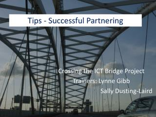 Tips - Successful Partnering