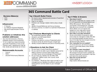 365 Command Battle Card