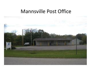 Mannsville Post Office