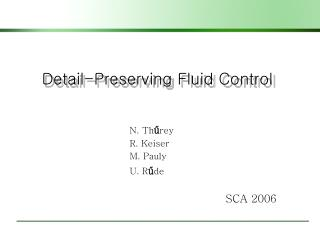 Detail-Preserving Fluid Control
