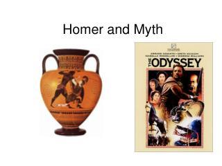 Homer and Myth