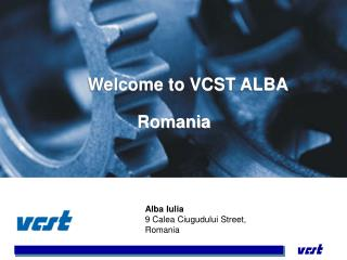 Welcome to VCST ALBA