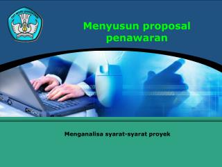 Menyusun proposal penawaran