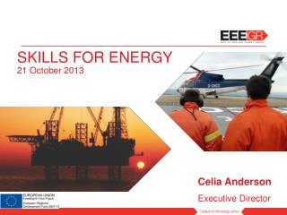 SKILLS FOR ENERGY 21 October 2013