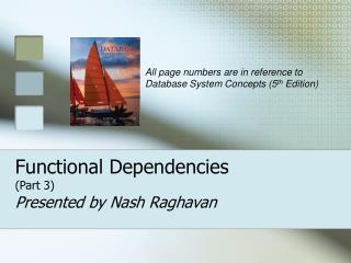 Functional Dependencies (Part 3)