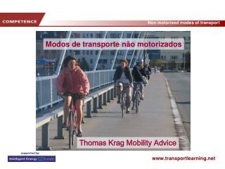 Modos de transporte não motorizados
