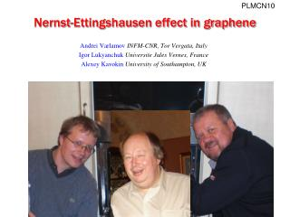 Nernst-Ettingshausen effect in graphene