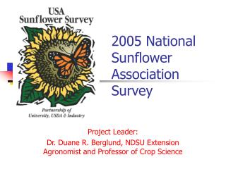 2005 National Sunflower Association Survey