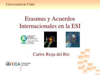 Erasmus y Acuerdos Internacionales en la ESI