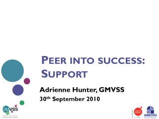 Peer into success: Support