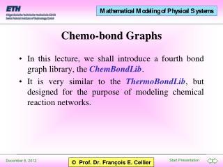 Chemo-bond Graphs
