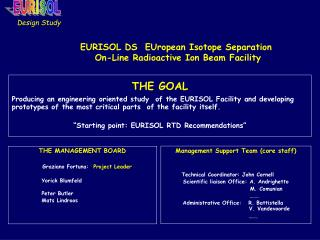 EURISOL DS  EUropean Isotope Separation  On-Line Radioactive Ion Beam Facility