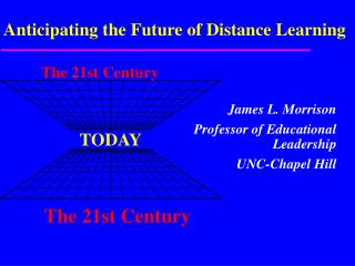 Anticipating the Future of Distance Learning