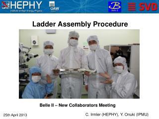 Ladder Assembly Procedure