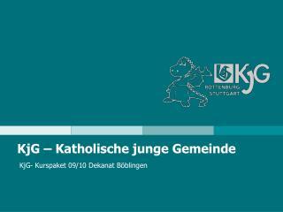 KjG – Katholische junge Gemeinde
