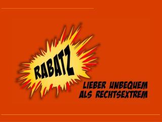 RABATZ ist das aktuelle Schwerpunktthema der Katholischen Jungen Gemeinde (KJG) in Bayern.