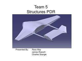 Team 5 Structures PDR