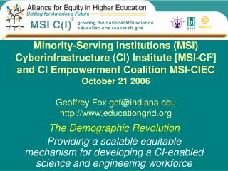 The Demographic Revolution