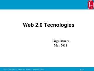 Web 2.0 Tecnologies