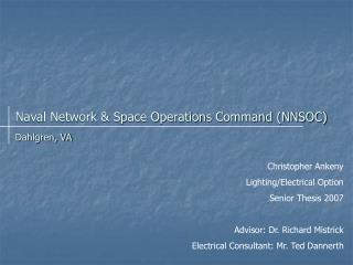 Naval Network & Space Operations Command (NNSOC)