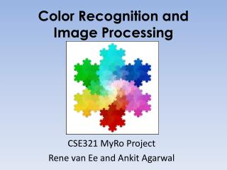 Color Recognition and  Image Processing