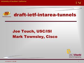 draft-ietf-intarea-tunnels