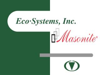 Eco�Systems, Inc.