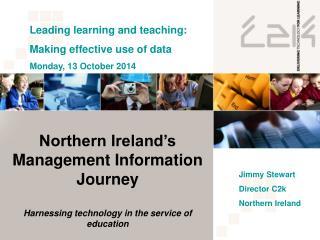Northern Ireland's Management Information Journey
