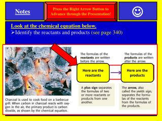 SPI 0807.9.10   Reactants & Products