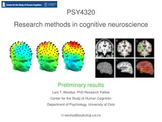 PSY4320   Research methods in cognitive neuroscience