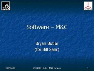 Software � M&C