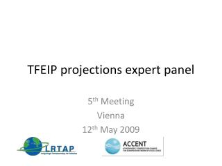 TFEIP projections expert panel